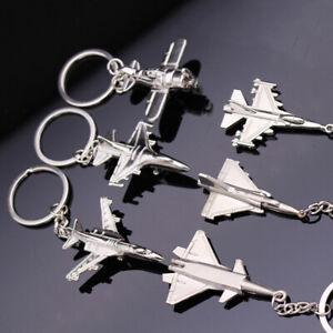 NE-IG-Aircraft-Model-Key-Ring-Car-Keys-Holder-Backpack-Ornament-Metal-Keychain