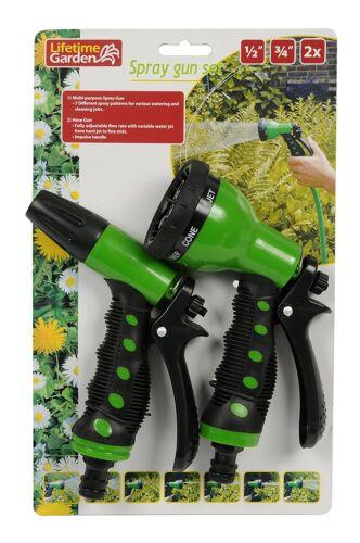 Garten Sprühpistolen Set 7 Funktionen mit Schnellkupplung