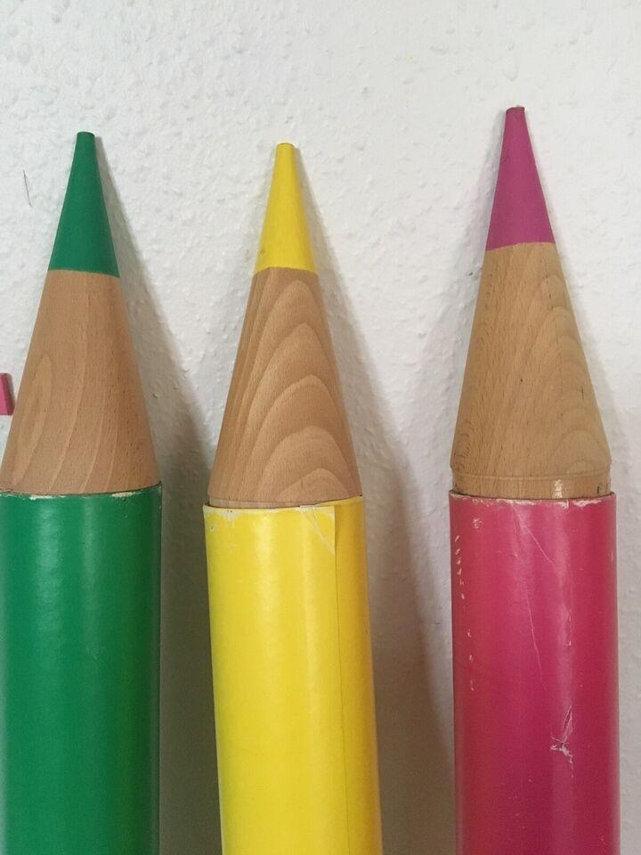 Plakater, Kæmpe blyanter/ plakatrør