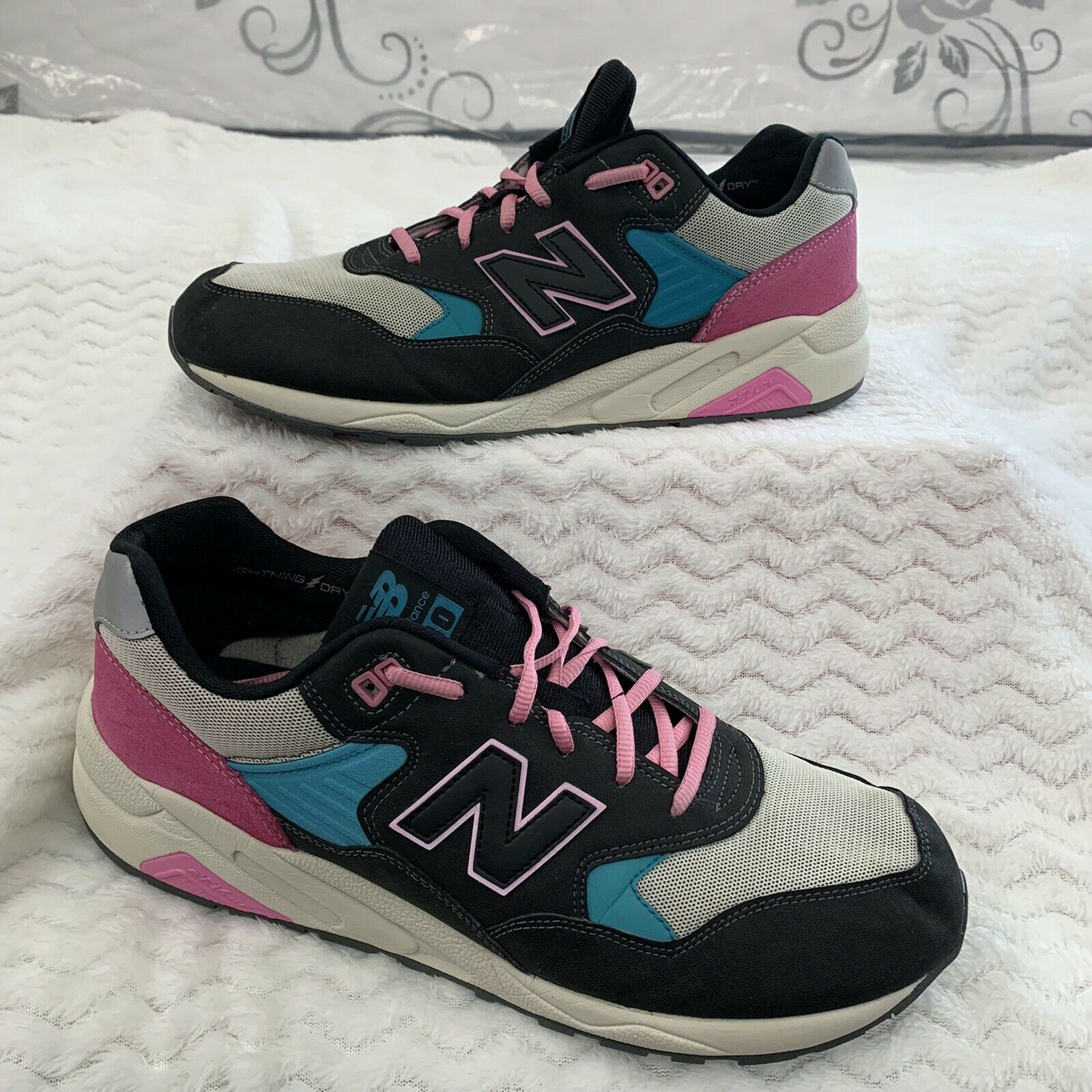 NEW BALANCE Mrt580Wb Low-Cut Sneakers 30cm Multi-Colored Polyester Size US 12
