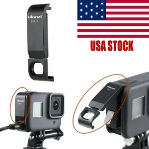 ABS Material Ulanzi Battery Cover Removable Type-C Charging Port Adapter for GoPro 8