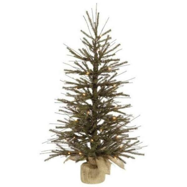 Vickerman 18' Vienna Twig Artificial Christmas Tree with ...