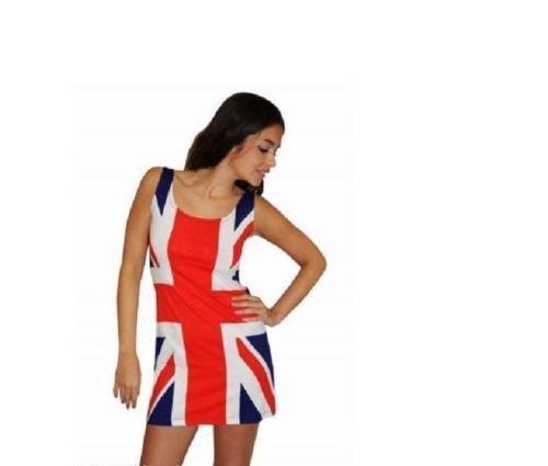 Union Jack Robe Femmes