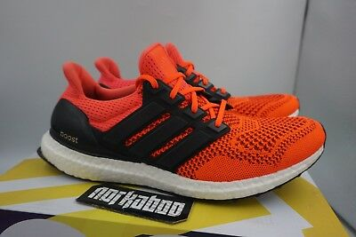 Adidas Ultra Boost 1.0 Solar Red Black White B34050 | eBay