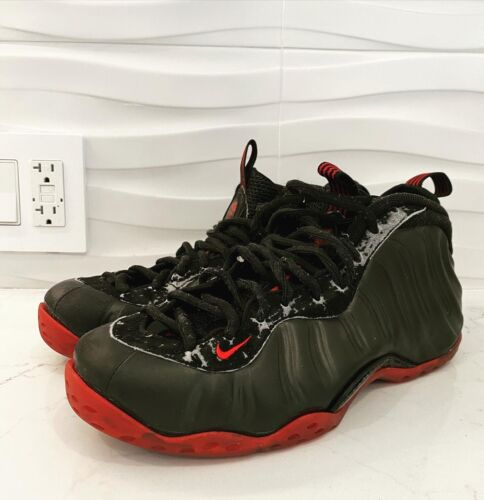 Used/Washed Foamposite One Black/varsity Red, Rare
