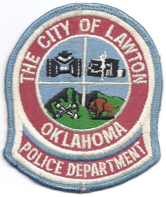 Oklahoma City Police capital city cap patch Oklahoma