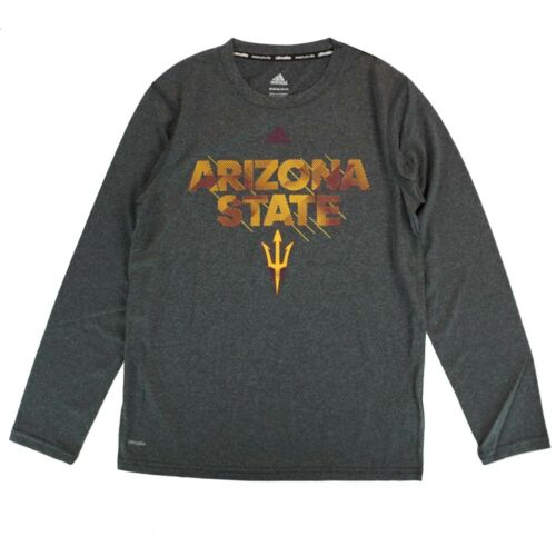 """Arizona State Sun Devils NCAA Youth Grey /""""Sideline in Motion/"""" Climalite T-Shirt"""
