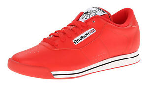 83d1af38d75 Image is loading Reebok-Classic-Princess-Techy-Red-White-Black-Womens-