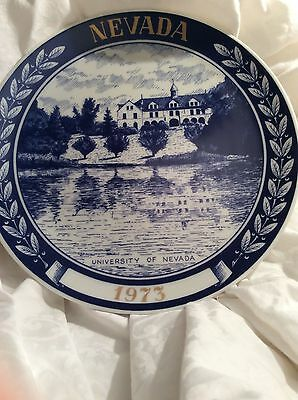 1973 Rhode Island 3 Mile Cliff Walk Plate Vintage Rare Collectable Antique