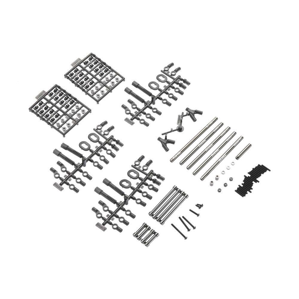 Axial TR vínculos WB Set 12 (305mm) SCX10 AX31142