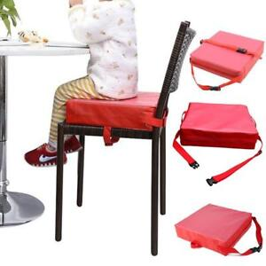 Details About Detachable Adjustable Kids Dining Chair Booster Cushion Seats For Baby Chairs