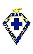 Registered Nurse RN Pin Blue Cross Lamp of Knowledge Graduation Ceremony 110 New