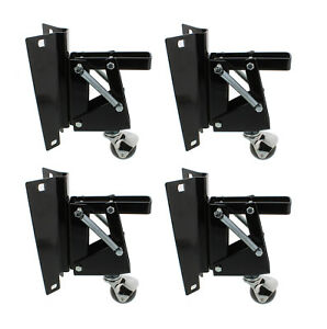 Wondrous Details About Dct Heavy Duty Retractable Workbench Swivel Caster Wheels With Bracket 4 Pack Beatyapartments Chair Design Images Beatyapartmentscom