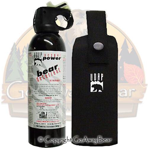 UDAPs Biggest Super Magnum Bear Spray w/ Holster 18HP