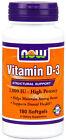Now Foods Vitamin D3 1000 IU 180 Softgels
