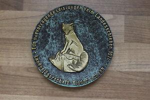 """(art I-1171) Belle Médaille Bronze """" Landesschießen 1974 """""""