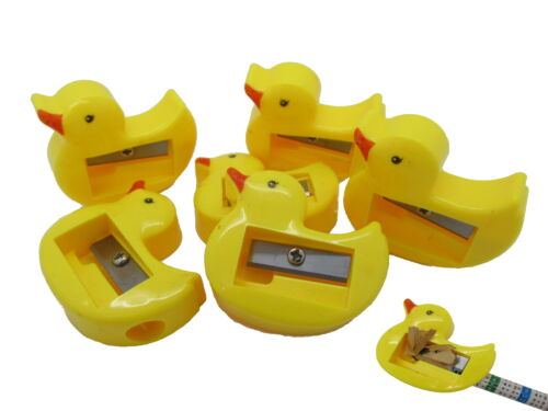 54x Anspitzer Ente Mitgebsel Kinderbelohnung Schule Kindergarten Enten