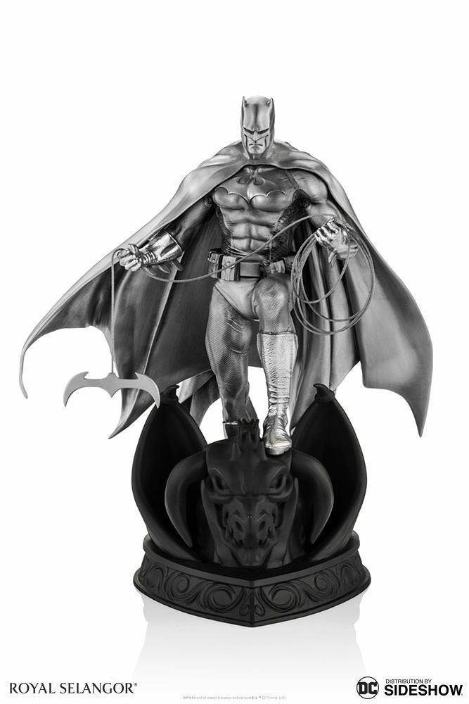 Royal Selangor DC Batman Pewter Collectible 9.25  Tall Figurine Statue MISB NEW