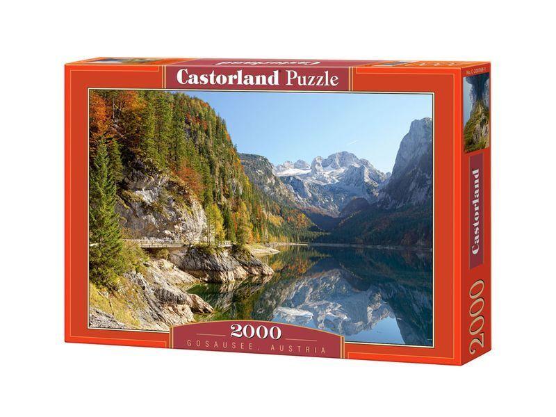 Castorland Puzzle 2000 Pieces - Gosausee, Austria - 36 x27  Sealed box C-200368