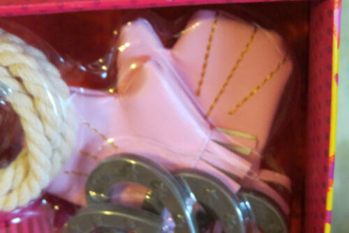 """AG Our Generation Lucky Horseshoes Gloves 18/"""" Girl Doll HORSE Accessories NEW!"""