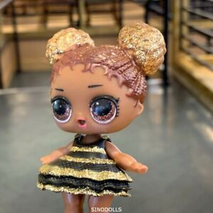 Ultra-Rare-LOL-Surprise-Doll-L-O-L-SERIES-QUEEN-BEE-GLITTER-Dress-w-Outfit-Toy