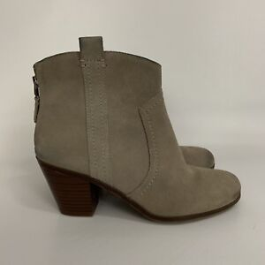 c302bfd4715c9 Women s Sam Edelman London Putty Ankle Boots Booties Size 7.5 M AS ...