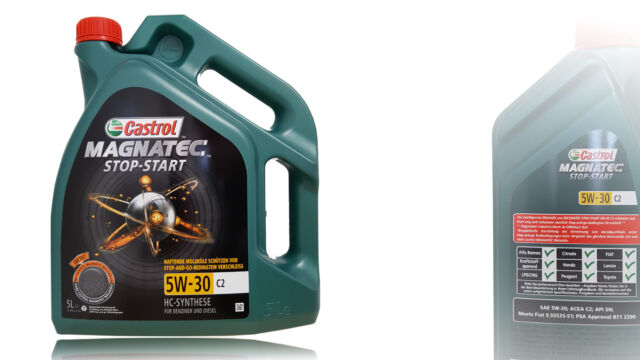 Castrol Magnatec Stop-Start 5W-30 C2 PSA Liberación 5 Litro B71 2290 , Fiat