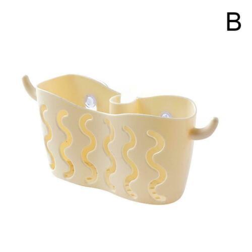 Kitchen Bathroom Sponge Sink Tidy Holder Suction Strainer Organizer Basket Hot