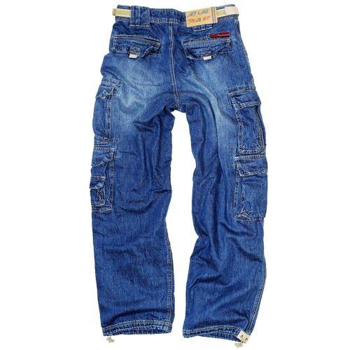 mannen voor zijzakken heren Lag 007 S voor Jeans 5xl Cargobroek Jet Cargobroek E6ztwqzp