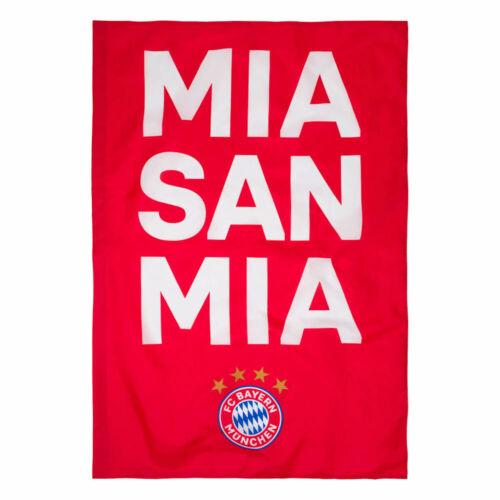 Fahne MIA SAN MIA rot 100 x 150 cm FC Bayern München Flagge 24115 FCB Fanartikel
