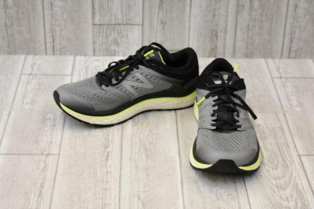 New Balance Fresh Foam 1080v8 Sneaker, Men's, Size 9 W, GreyLime