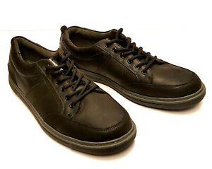 Nunn Bush Mens Size 13m Black Dual Comfort Memory Foam