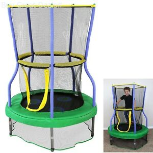 Baby Child Kids Toddler Children Safe Mini Indoor Trampoline Bouncer Enclosure