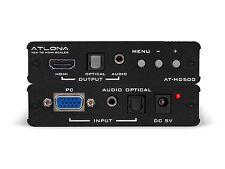 Atlona AT-HD500 VGA to HDMI AV Converter Scaler