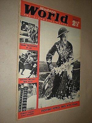 GeïMporteerd Uit Het Buitenland Modern World Pictorial Review Magazine. Vintage Illustrated Mag. Aug 10th 1940