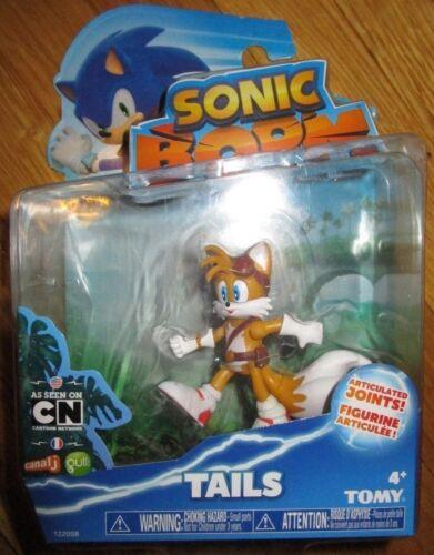 "SONIC BOOM TAILS FIGURE 3/"" Sonic The Hedgehog SEGA NEW"