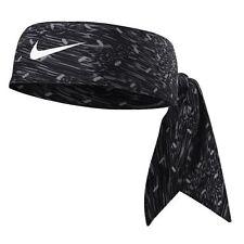New Women Nike Printed Head Tie 2.0 Headband Tennis Running Basketball Black