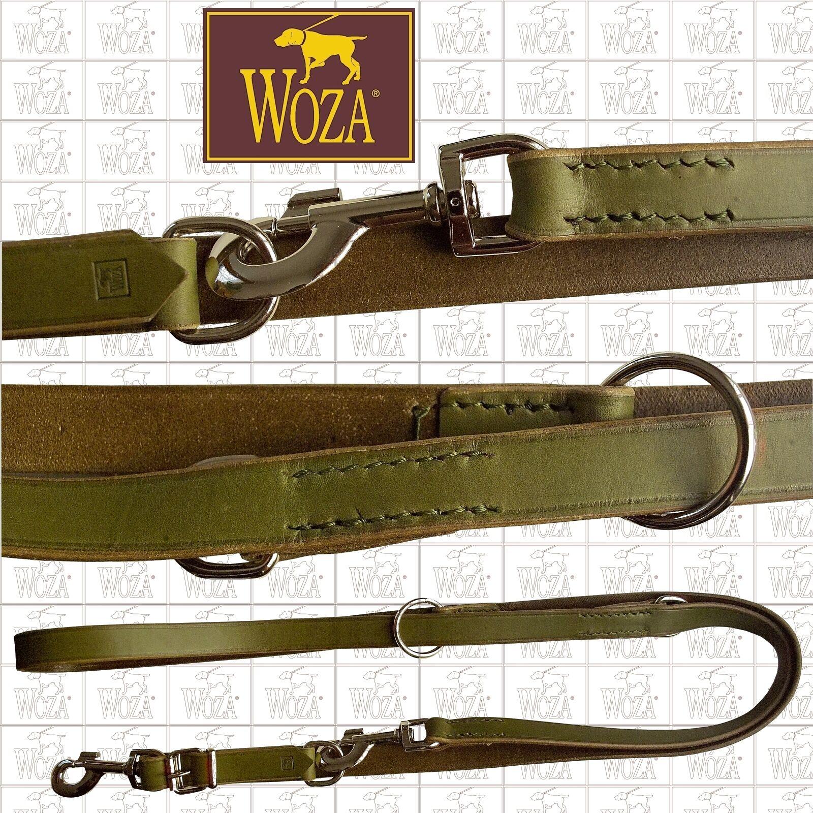 WOZA Premium Hundeleine Hundeleine Hundeleine Handgenäht Vollleder Rindlederleine Runde Kanten L42177  | Spezielle Funktion  094d7e