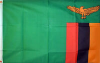 3' x 2' Zambia Flag Zambian National Flags Africa African Country Banner