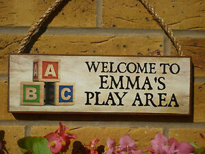 PERSONALISED-CHILDRENS-SIGN-WELCOME-SIGN-PLAY-AREA-TREEHOUSE-GARDEN-PLAY-AREA