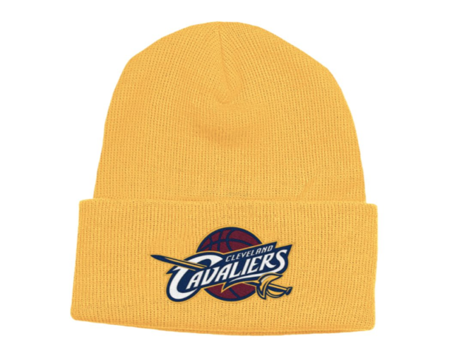 50ed13ae000 Cleveland Cavaliers Adidas Knit Cuffed Winter NBA Basketball Hat (New)