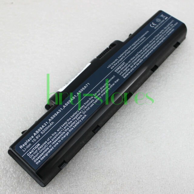 Battery For Acer eMachines E430 E525 E527 E625 E627 E630 E725 E727 AS09A51
