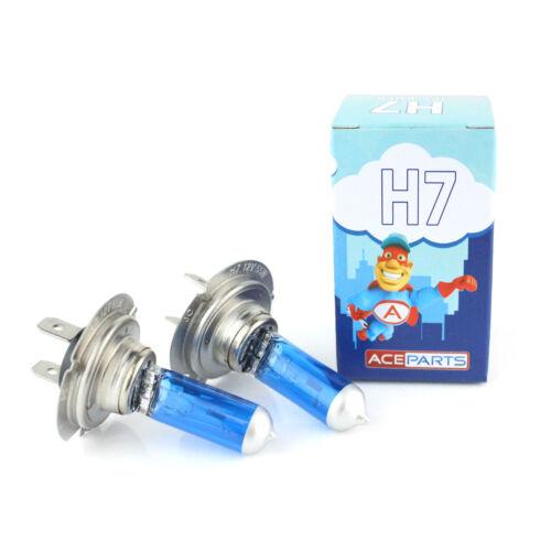 Skoda Fabia 55w ICE Blue Xenon HID Low Dip Beam Headlight Headlamp Bulbs Pair