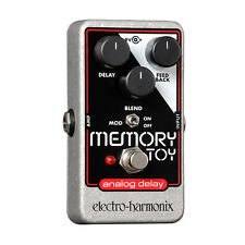 Electro Harmonix Memory Toy Nano Analog Echo/Chorus Guitar Effects Pedal - New