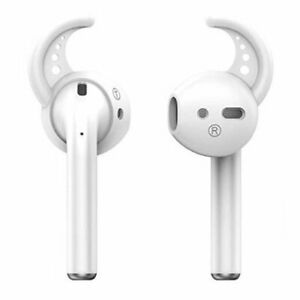 2 Pairs Earhooks For Apple Airpods Ear Hooks Fit Airpods 1 2 White Ebay