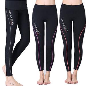 e7b716ebfee64 Image is loading Ladies-1-5mm-Neoprene-Leggings-Wetsuit-Trousers-Pants-