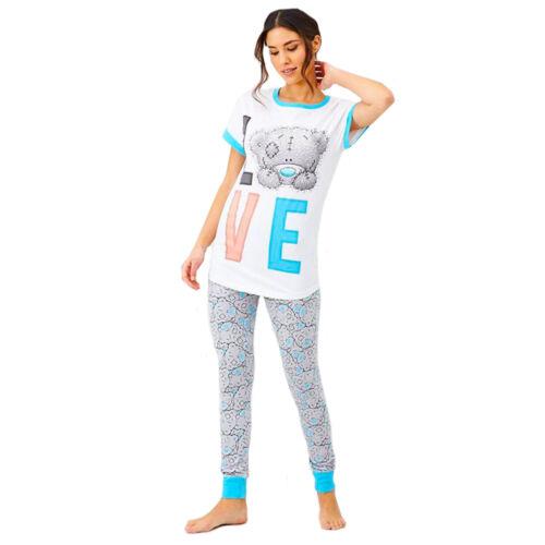 Ladies Womens Me to You Tatty Teddy Love  Pj PJs 8-22 Nightwear Pyjamas
