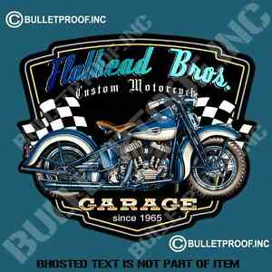 Details About Flathead Bros Decal Sticker Retro Americana Rat Rod Hot Rod Motorcycle Stickers