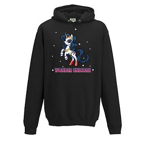 "/"" Wonder Unicorn/"" Wonder Woman Unicorn Parody MLP My Little Pony Hoodie"