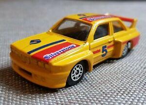 CORGI SILVERSTONE 5-GIALLO DA COLLEZIONE MODELLO AUTO o giocattolo. grande esempio, BMW